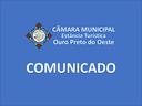 Comunicado 11ª Sessão Ordinária