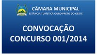 Edital N.007/2020/CMOPO (Convocação Concurso 2014)